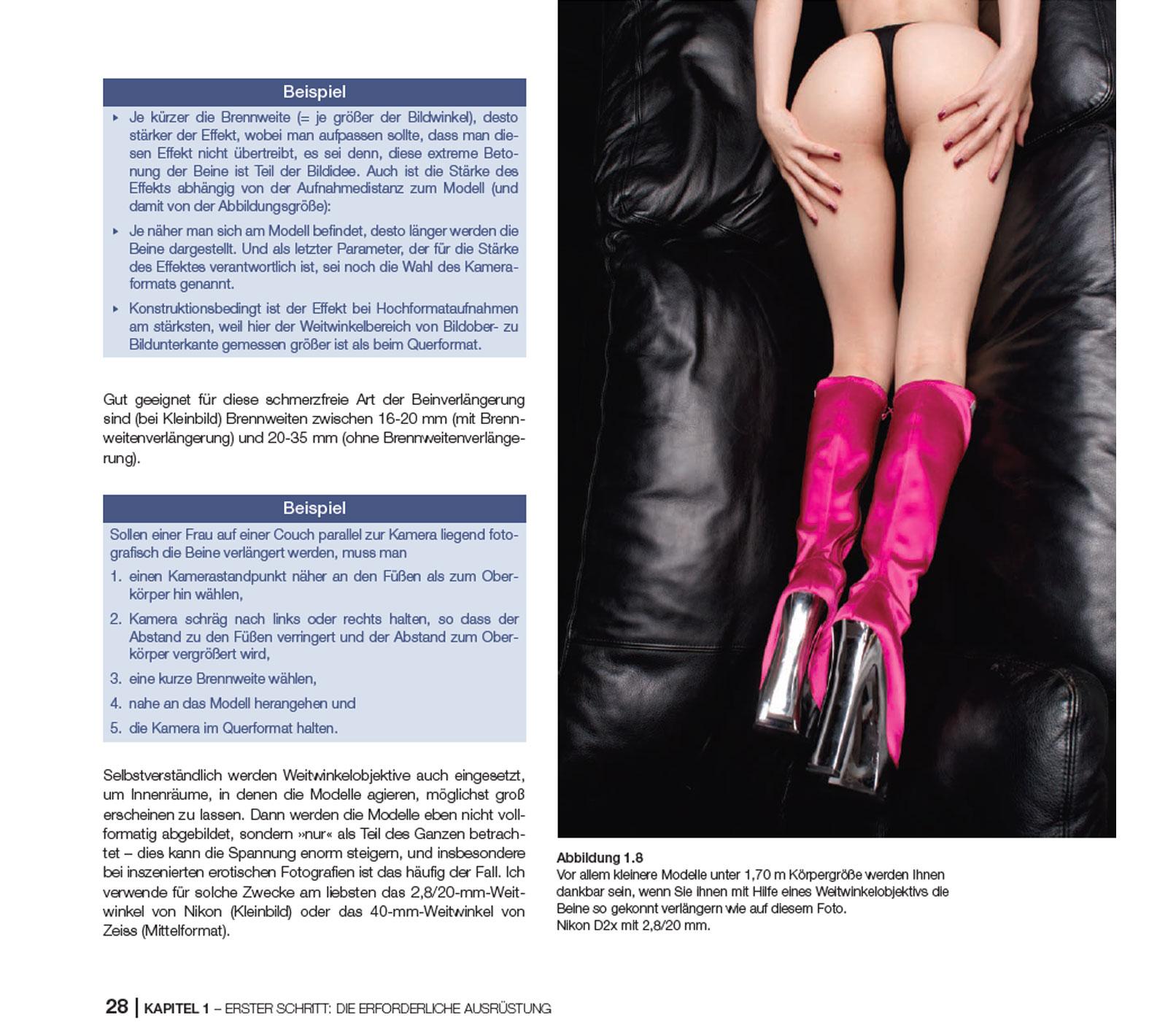 In sechs Schritten zum professionellen Erotikfoto – Tutorial