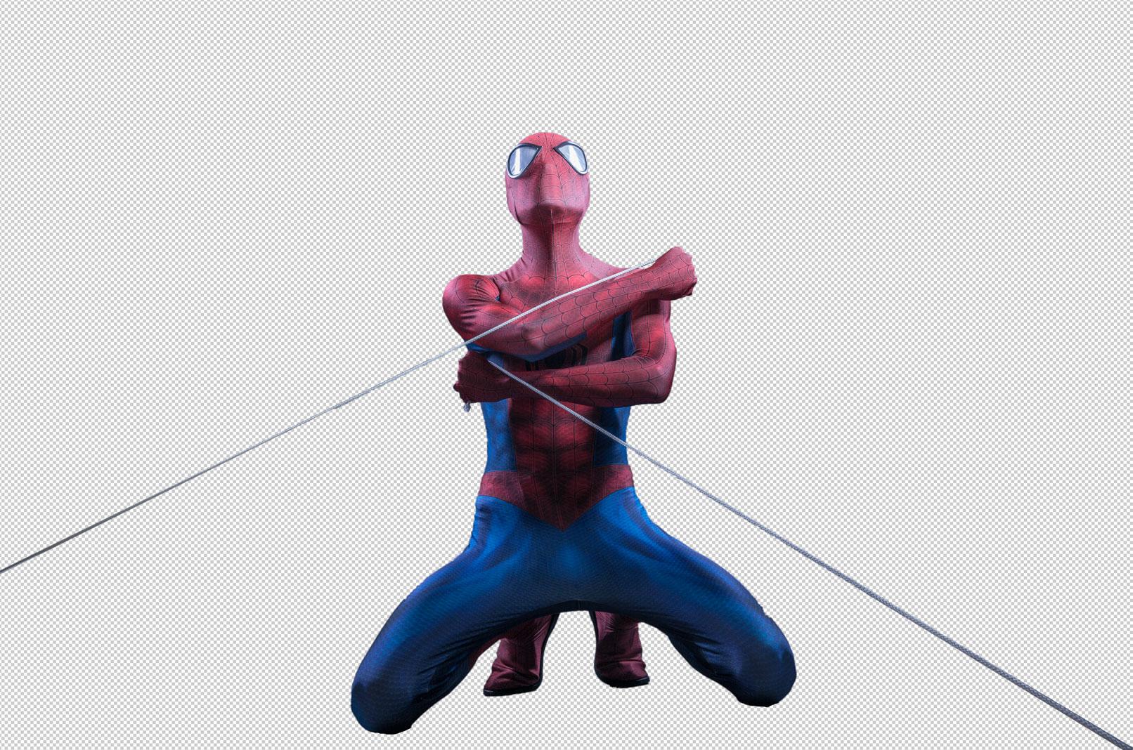 Bildcomposing und Perspektive in Photoshop: Artwork im Batman-Stil