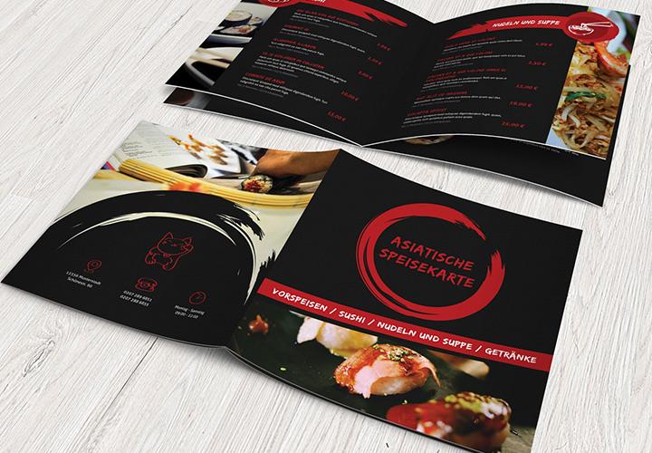 Speisekarten-Vorlagen für Designer und Gastronomen (InDesign, PowerPoint)