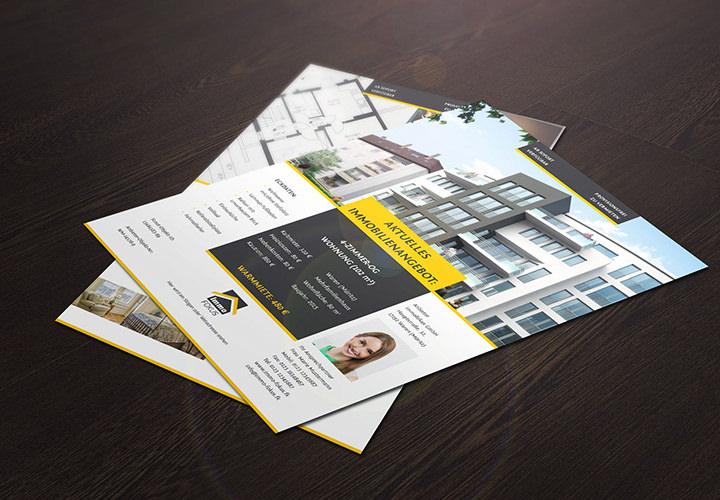 Exposé-Vorlagen für Immobilien