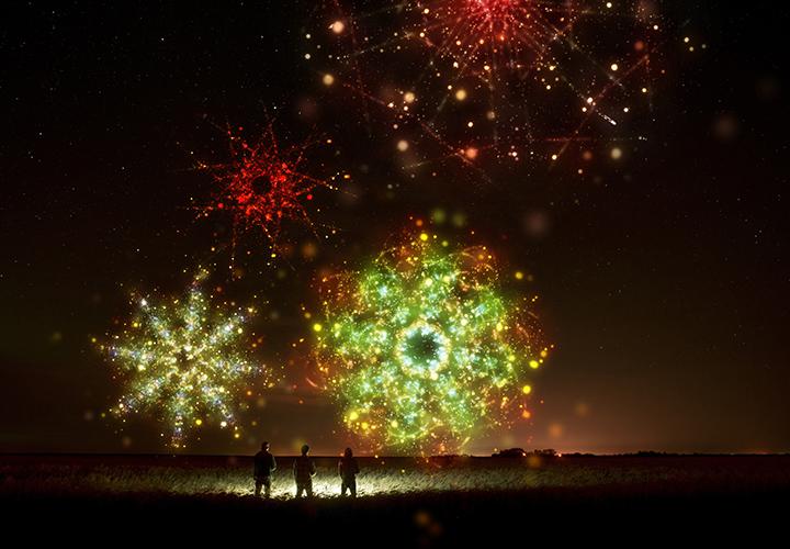 150 Sterne-Bilder für Hintergrund und Glitzereffekt