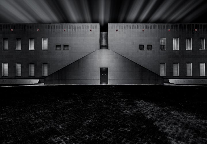 Schwarz-Weiß-Bildbearbeitung in Photoshop: Architekturfoto