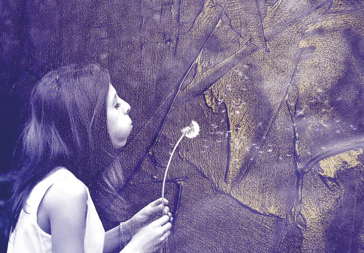 Acryl- & Lack-Texturen in Gold, Blau, Grün & Co für deinen Hintergrund