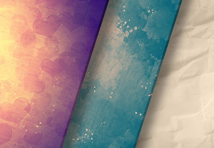 Farbige Hintergründe: bunte Hintergrundbilder mit Struktur und Motiv