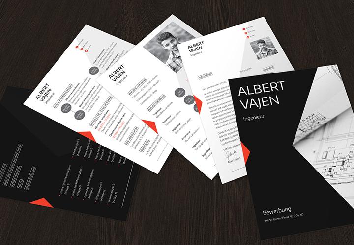 Design Bewerbung Lebenslauf Vorlage Bewerbung Deckblatt