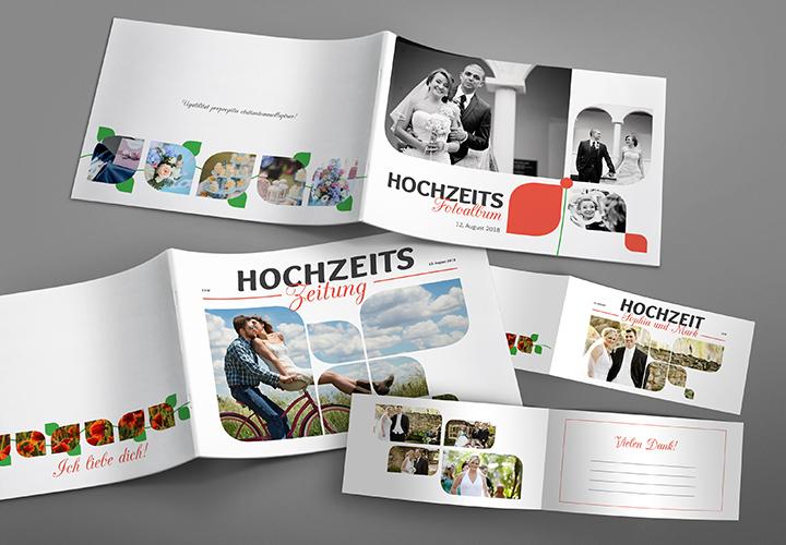 Design-Paket für die perfekte Hochzeit: raffiniert & reduziert