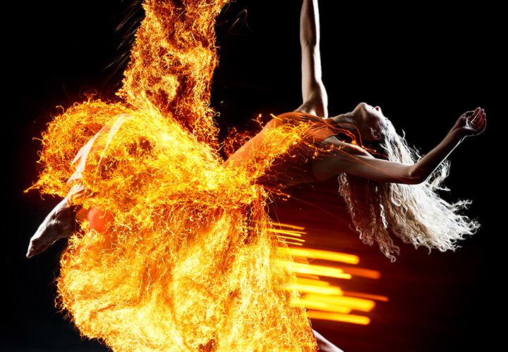 Feuer, Flammen, Funken – Bilder & Texturen für Photoshop & Co