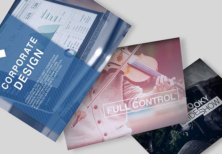 After Effects Slideshow-Templates – dynamische Fotopräsentationen erstellen