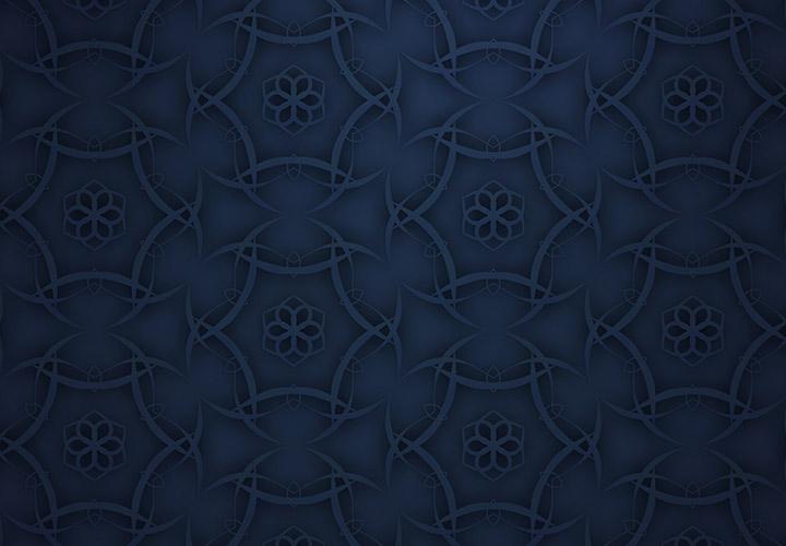 Dunkelblauer Hintergrund: feinste Ornamentik zum Download