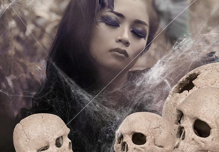 Horror und Halloween – 130 gruselige Bilder und Overlays