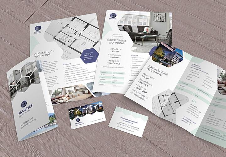 Designstarke Vorlagen für Immobilienfirmen und Architekturbüros