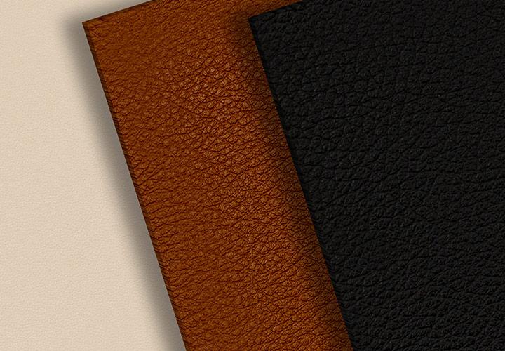 100 Leder-Texturen mit Farbe und Struktur