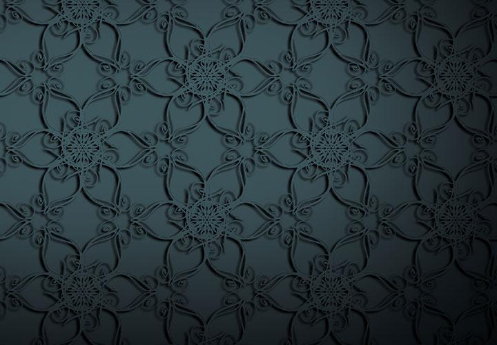 50 stahlgraue Hintergrundbilder mit feinster Ornamentik