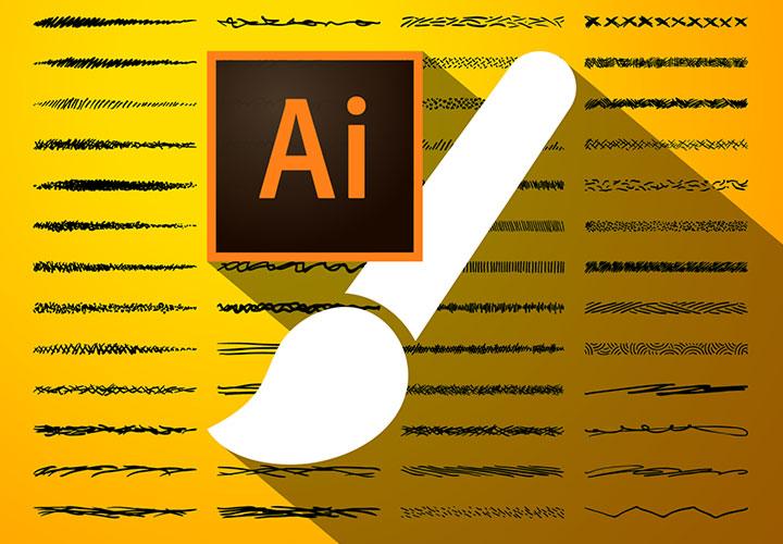 100 Adobe Illustrator-Pinsel für Strichzeichnungen