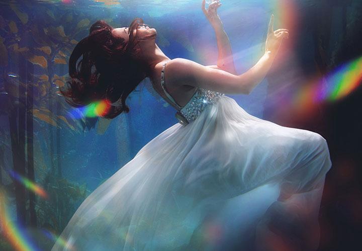 Prisma-Flares – das Regenbogenbunt als Overlays