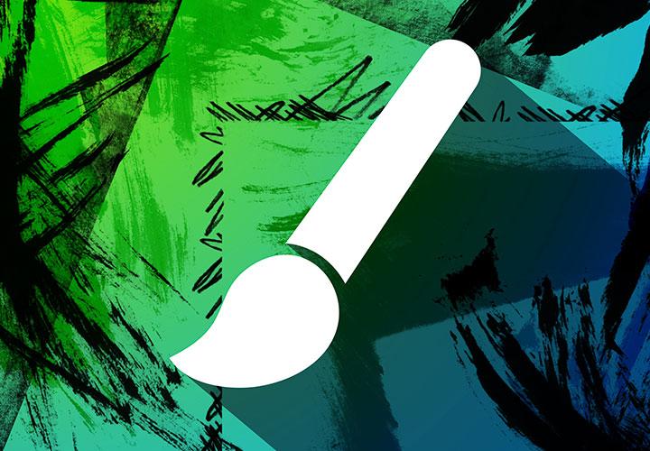 Grunge-Borders und -Edges – 100 Pinsel für Rahmen und Ecken im Dirty-Style