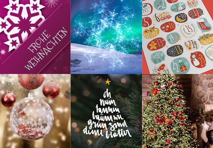 """Sparpaket """"Weihnachten"""": winterliche Illustrationen, Bilder und Grafiken"""