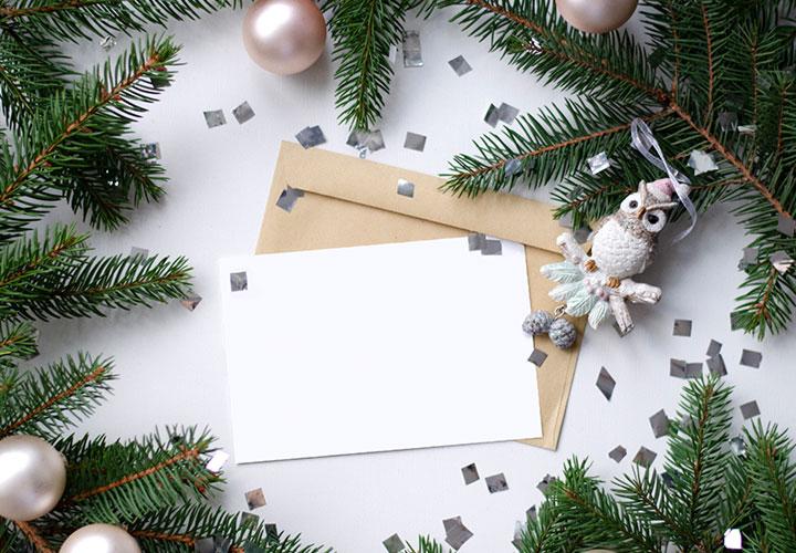 Weihnachtliche Hintergründe als Bilder und Photoshop-Mockups