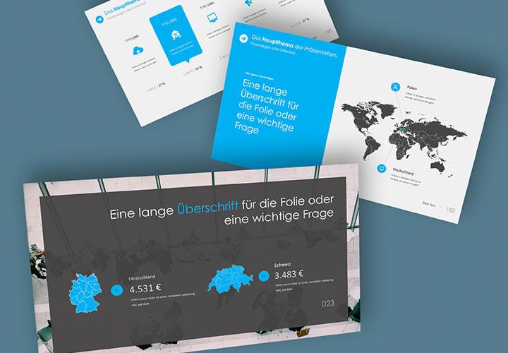 """PowerPoint-Vorlagen für Business-Präsentationen: """"360Grad"""""""