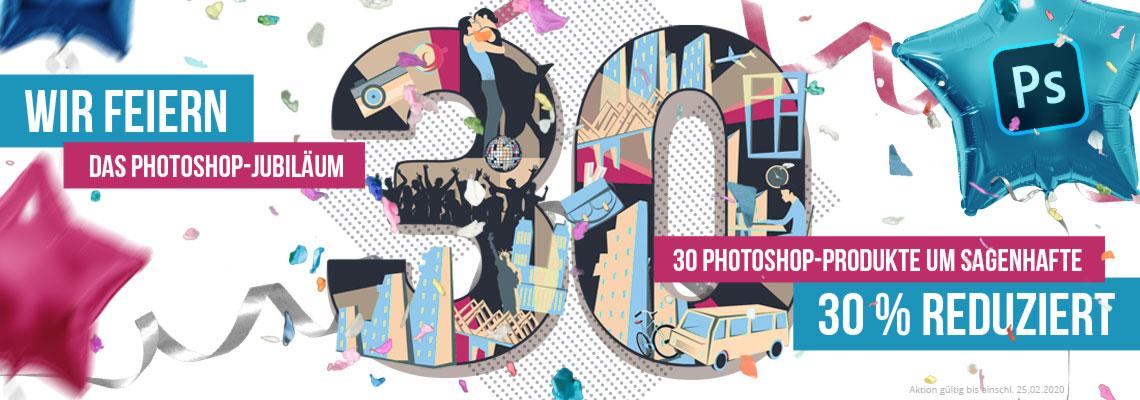 30. Geburtstag von Photoshop