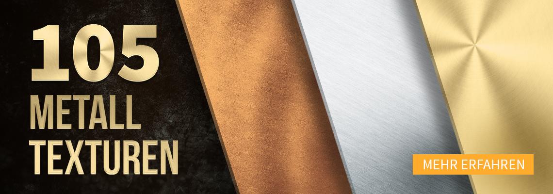 Glanzvolle Metall-Texturen