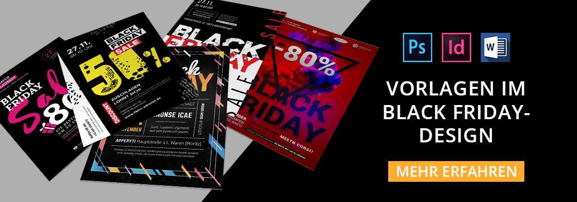 Plakat, Flyer, Black Friday