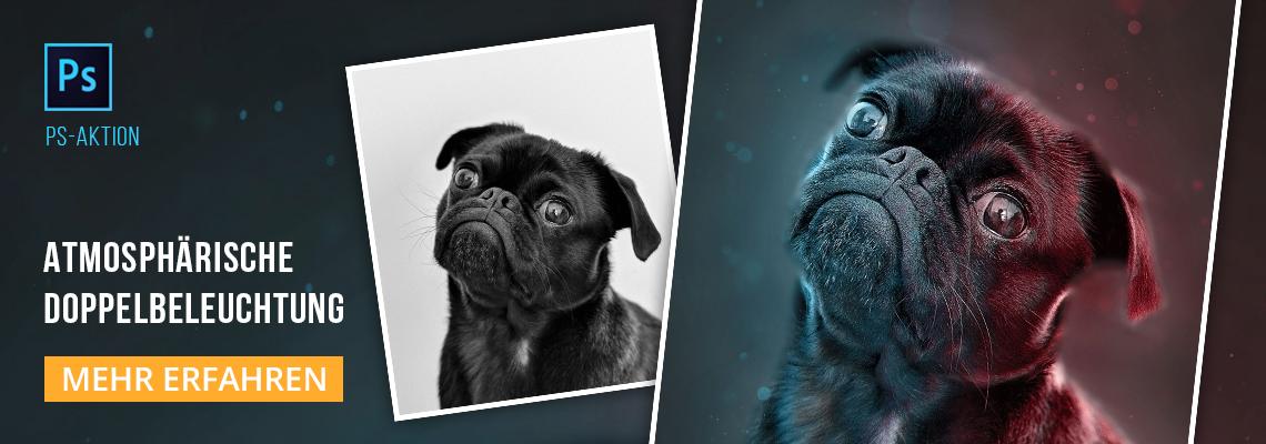 """Photoshop-Aktion """"2Light"""": Atmosphärische Doppelbeleuchtung für deine Fotos"""