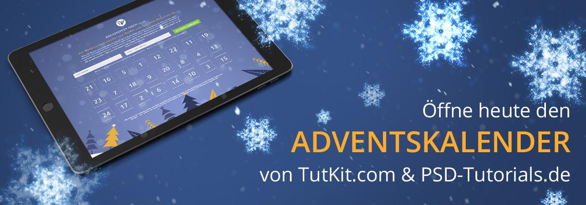 Adventskalender PSD-Tutorials.de