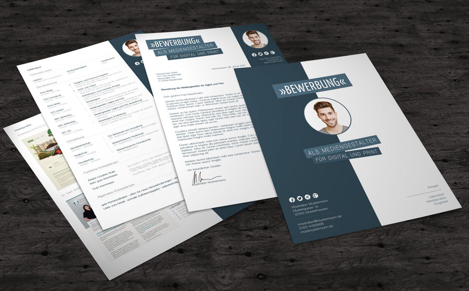 Bewerbungsvorlagen – Bewerbungsmuster – Deckblatt – Anschreiben ...