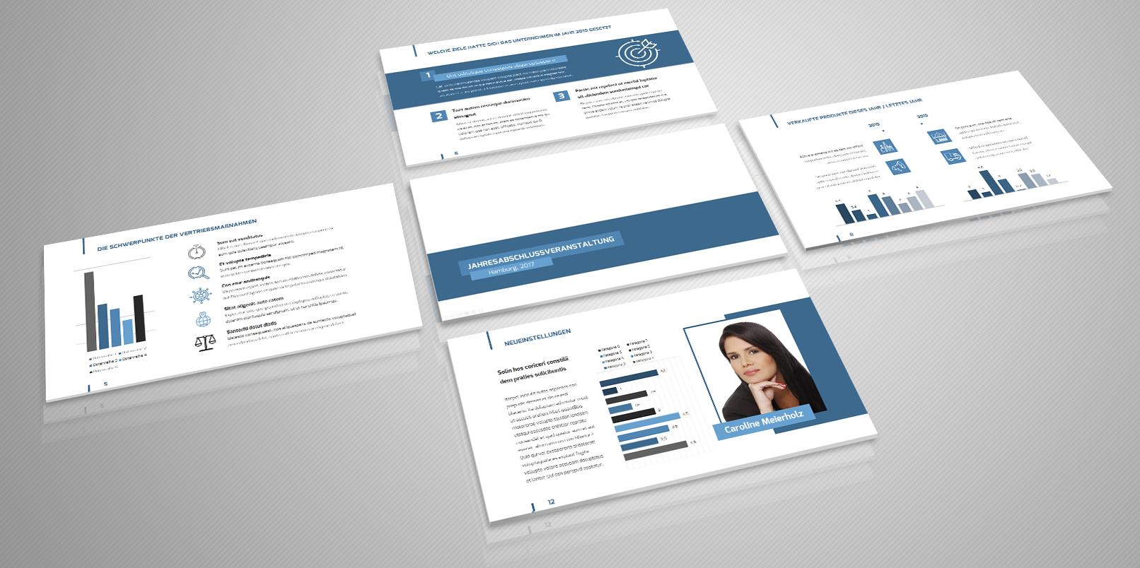 Professionelle PowerPoint Vorlagen: fertige Designs zur Präsentation