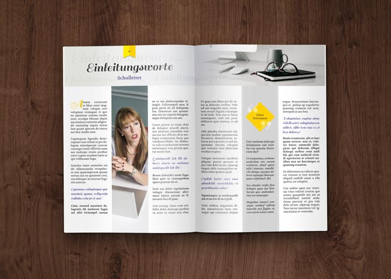 Layout Vorlagen Schulerzeitung Abizeitung 13