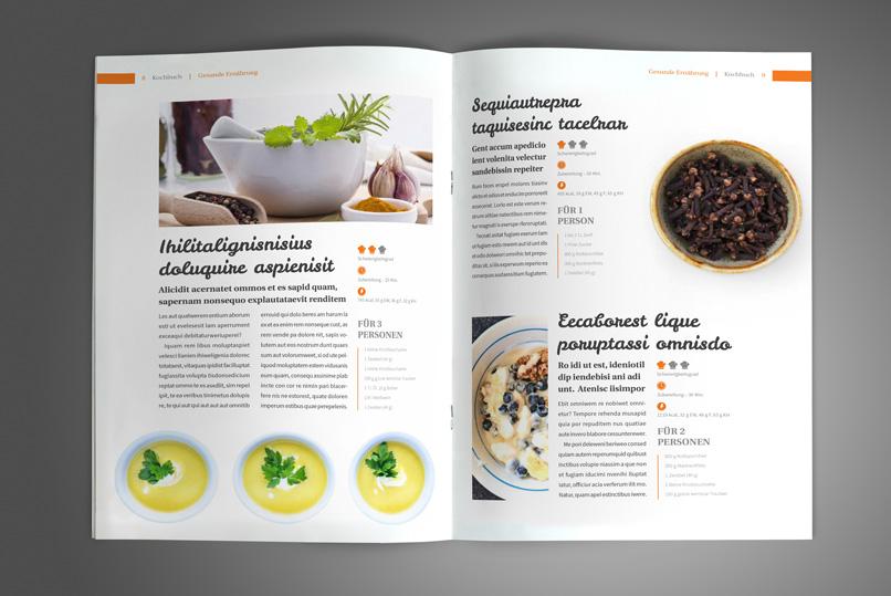 kochbuch und rezeptbuch vorlage designs layouts f r. Black Bedroom Furniture Sets. Home Design Ideas