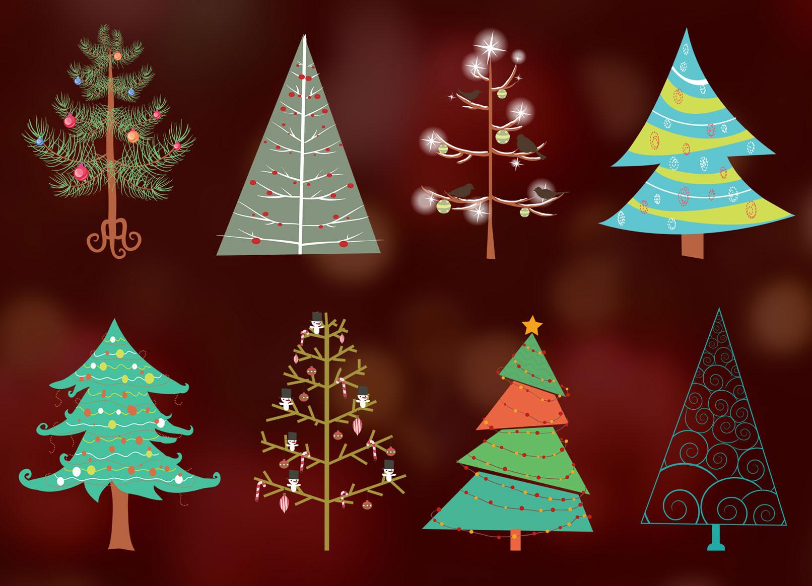 Winterliche Motive für Weihnachten und Silvester