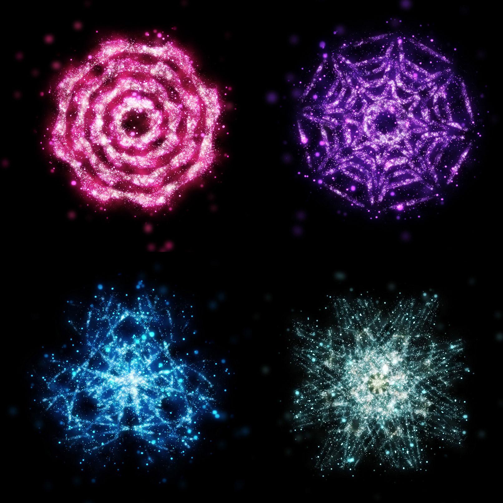 Sterne-Bilder und Sterne-Hintergrund für Glitzereffekte