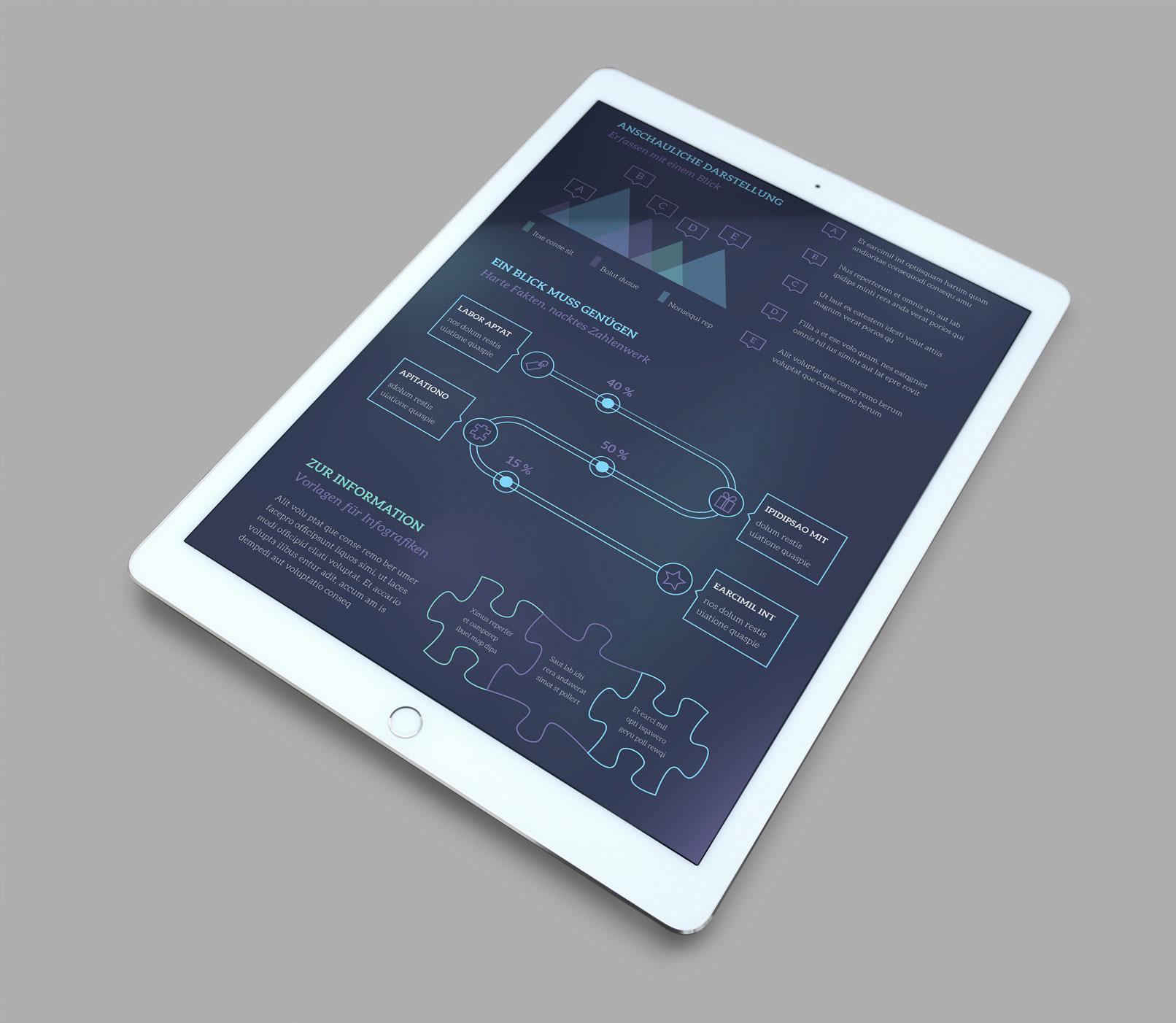 Vektorbasierte Design-Vorlagen für eine schnelle Bearbeitung in Adobe Illustrator
