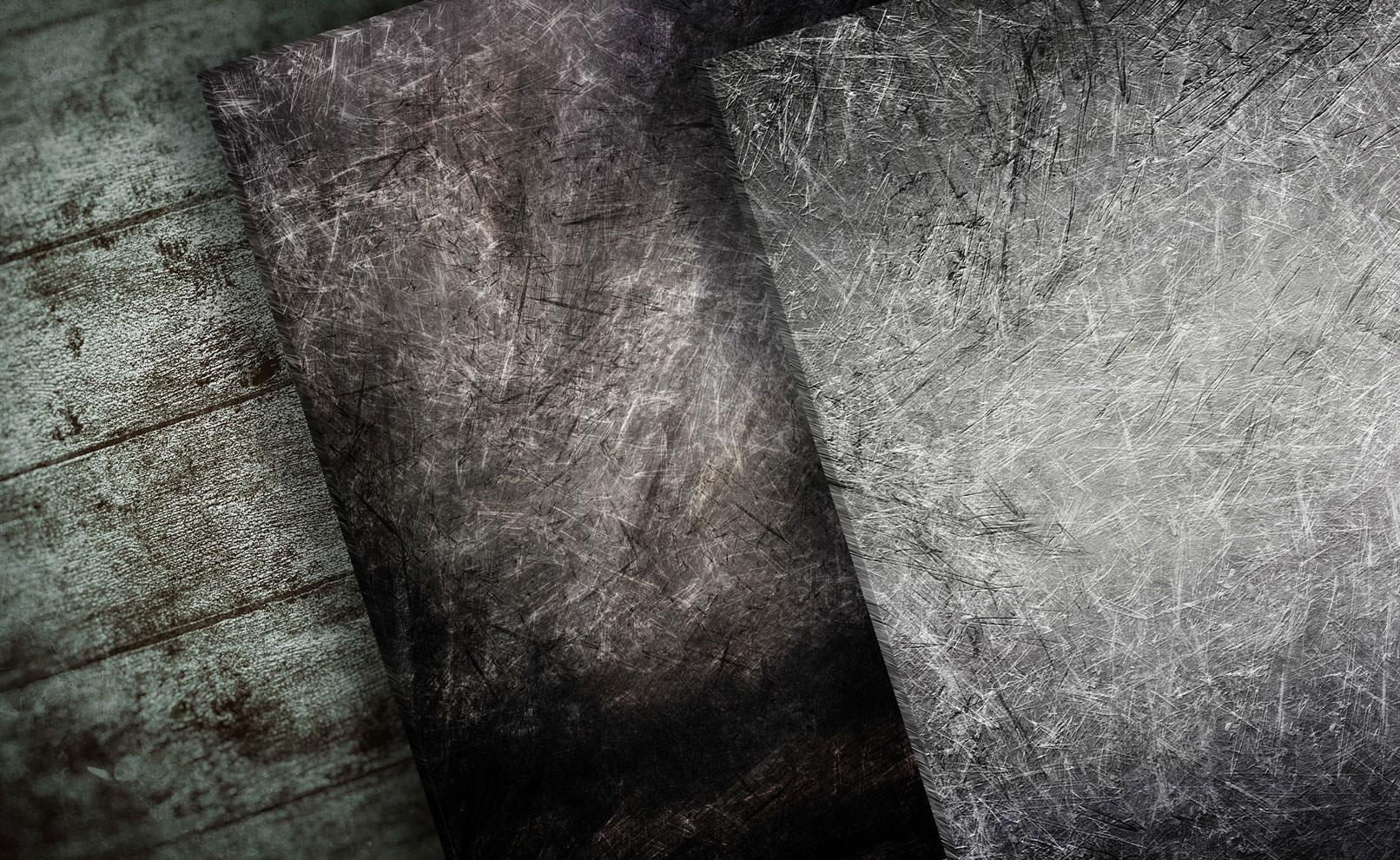 Hochaufgelöste Grunge-Texturen in Grau