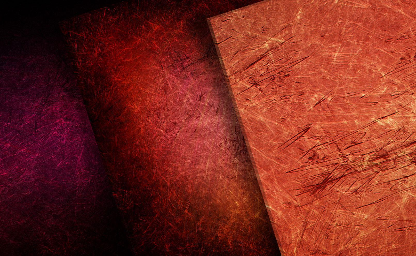 Hochaufgelöste Grunge-Texturen in Rot