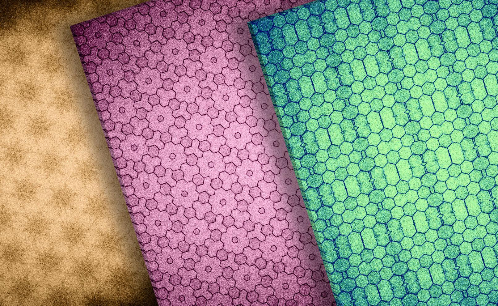 Hochaufgelöste Texturen: Pastell-Lightbeams und -Muster