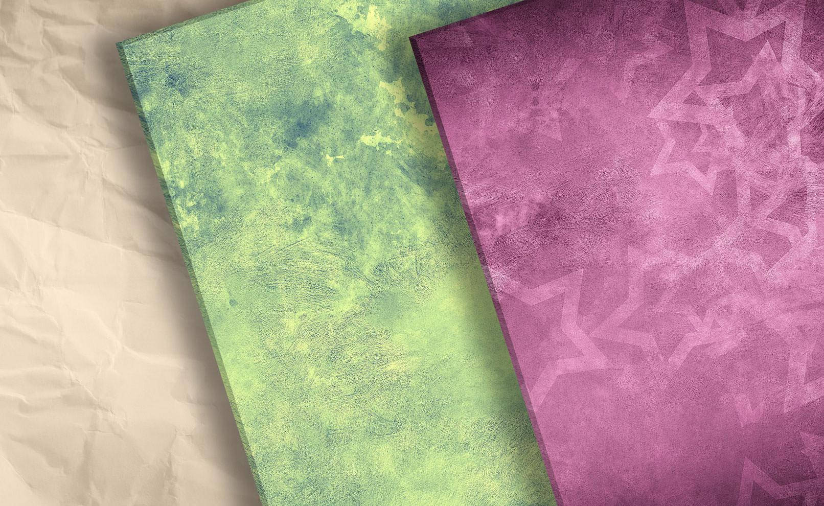 Farbige Hintergründe mit verschiedenen Farben und Strukturen