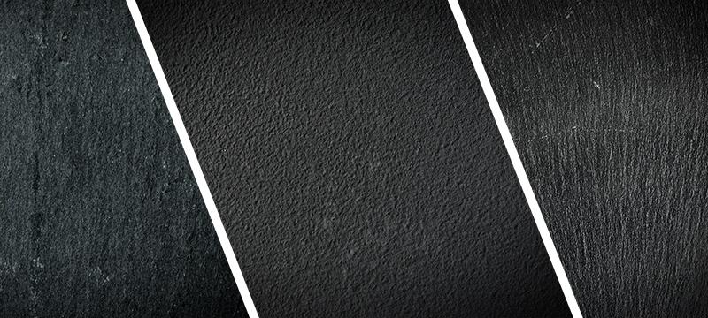 Tafel-Hintergrund schwarz-grau mit Vignette