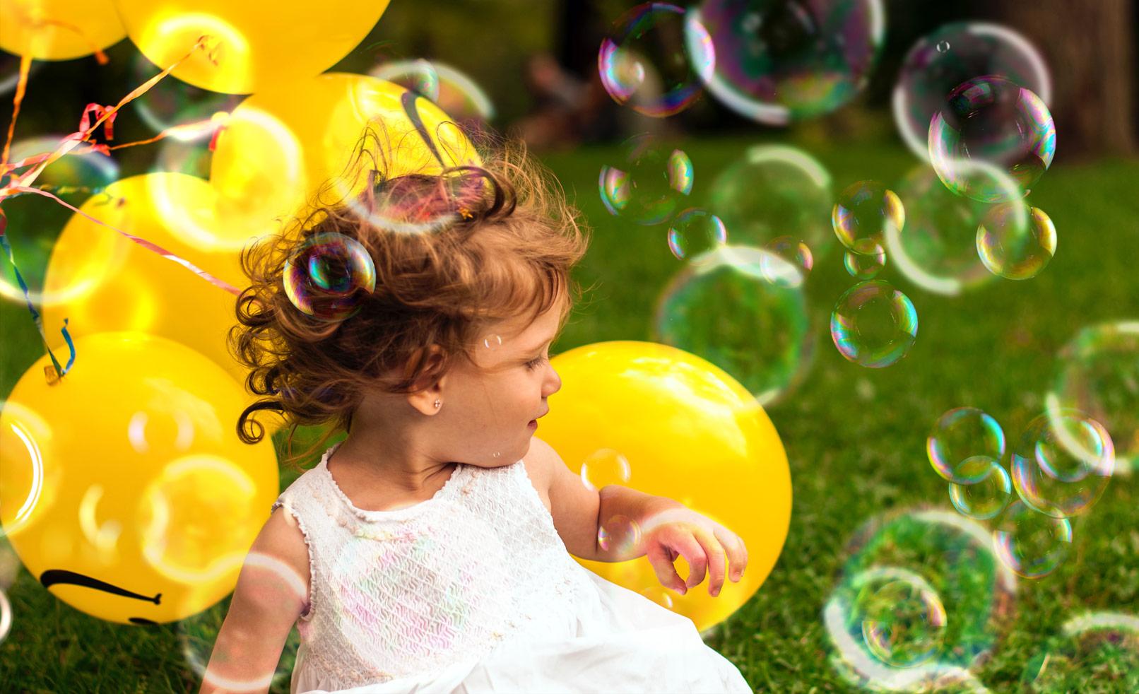 Seifenblasen-Bilder: Overlays für deine Fotos und Composings