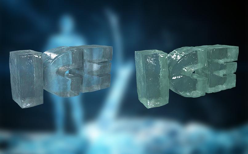 Shader für Cinema 4D zur Darstellung von Eis