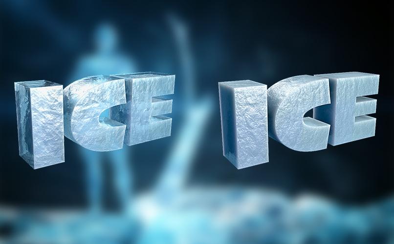 Material für Cinema 4D: Eis-Shader