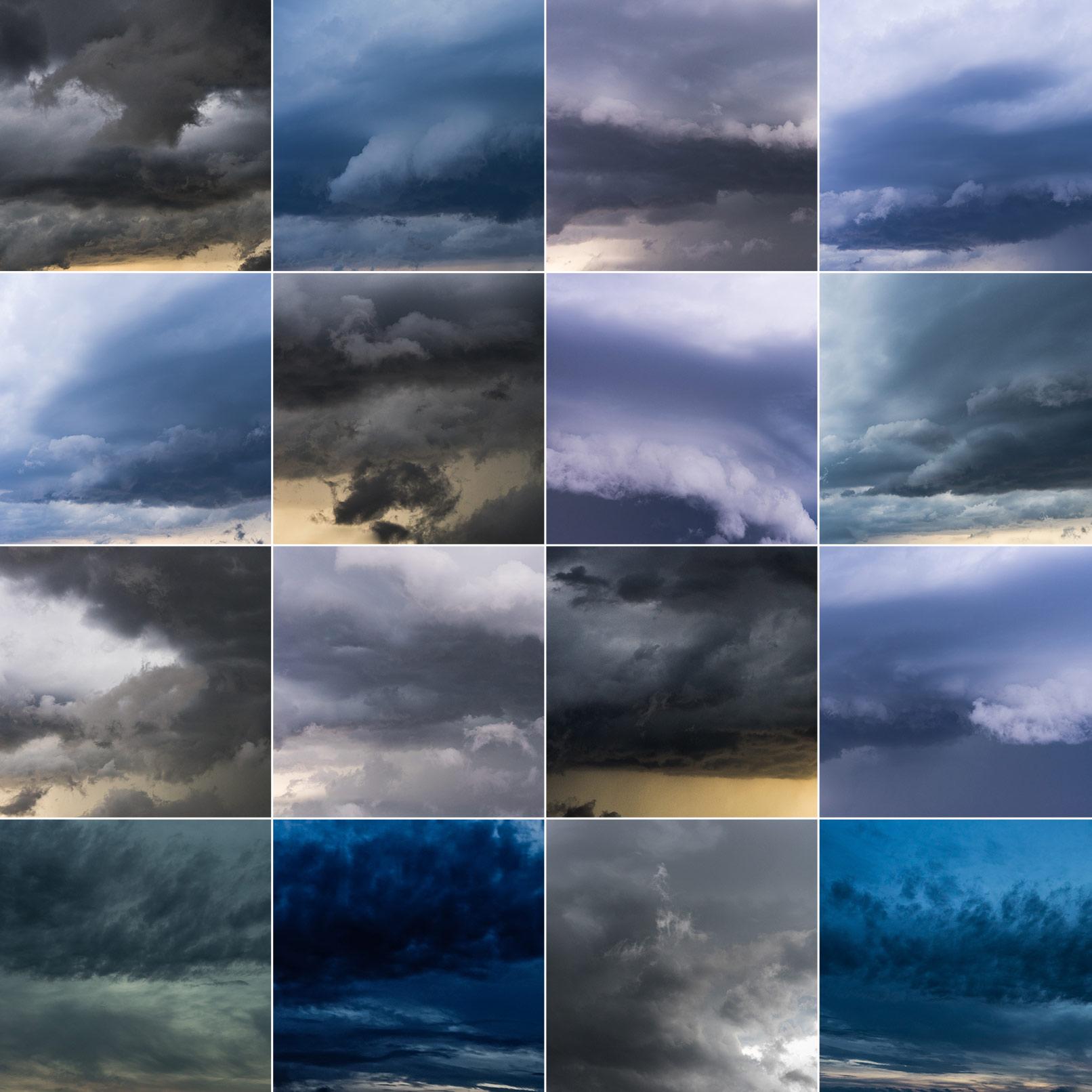 Wolken-Bilder zum Austauschen des Himmels in Fotos
