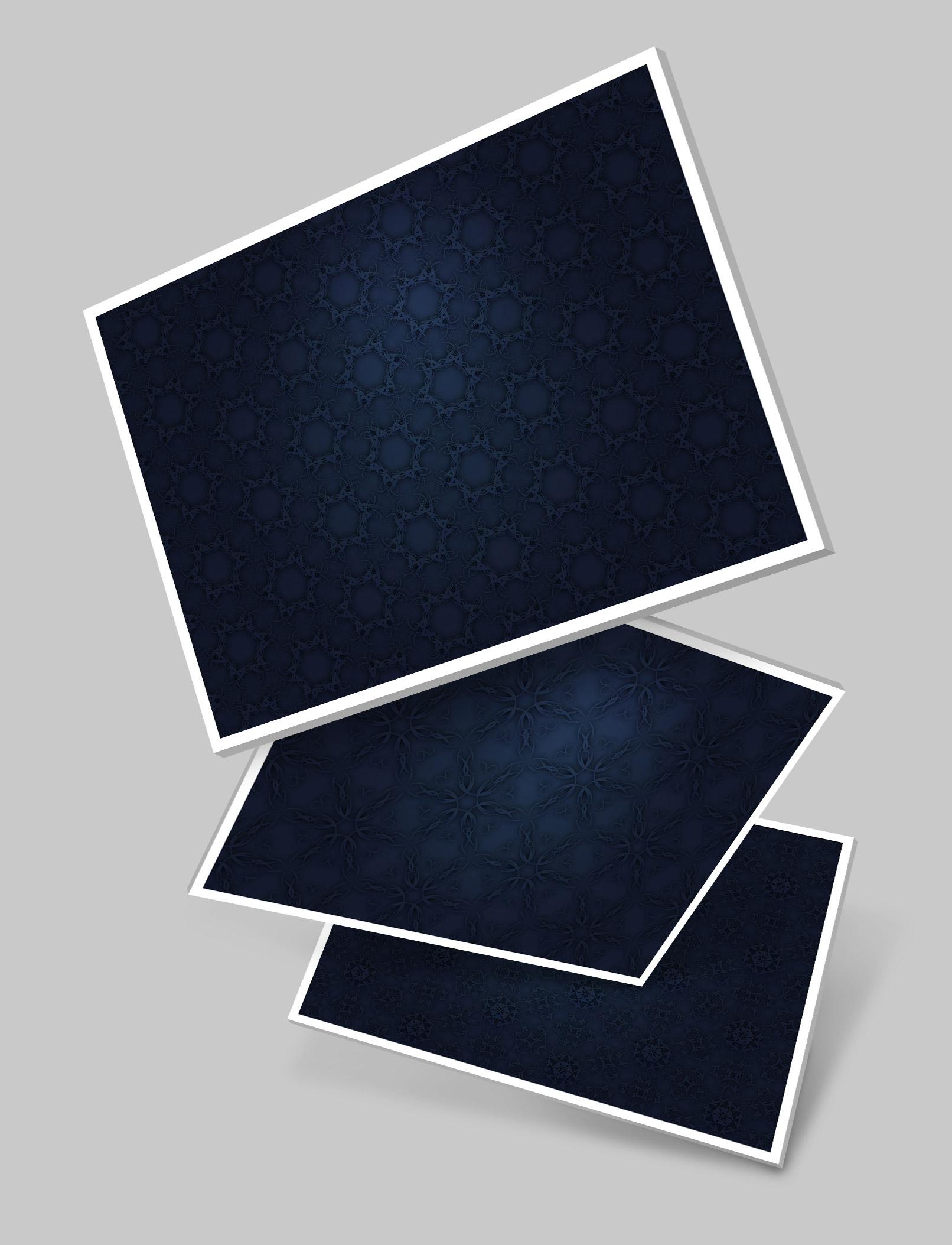 Dunkelblaue Hintergründe aus dem Paket