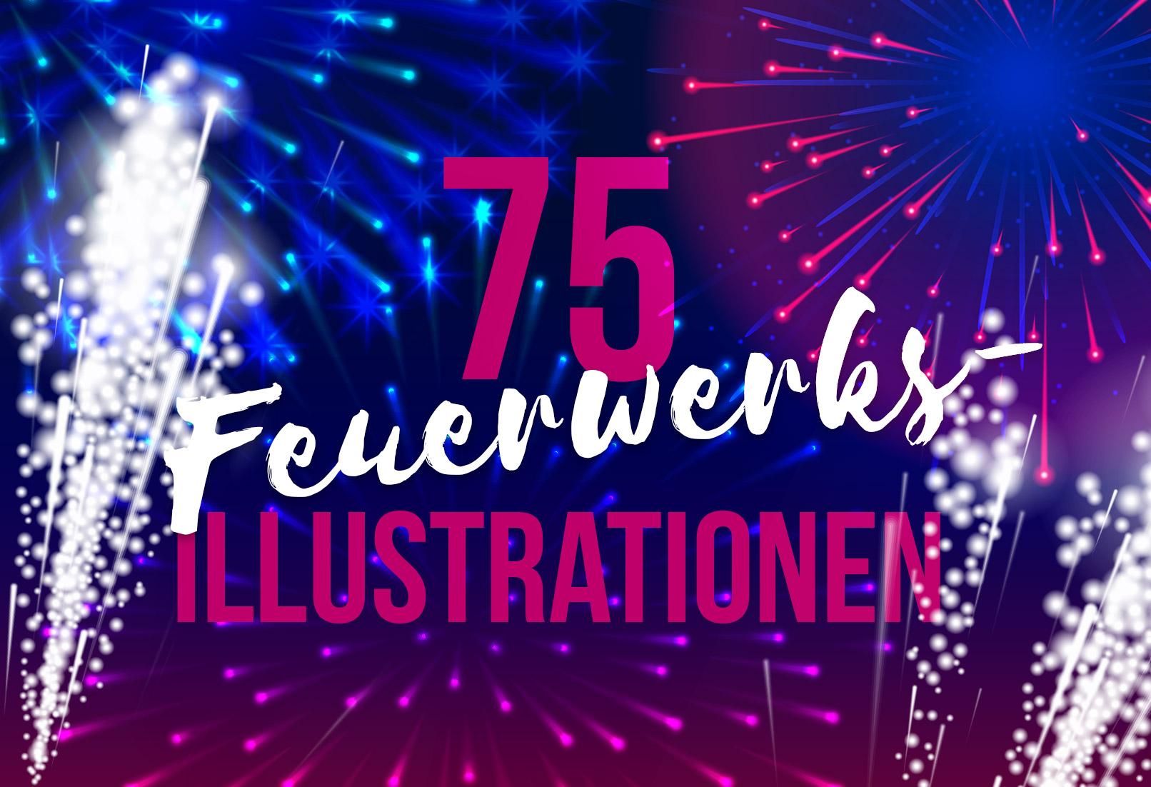 Feuerwerks-Illustrationen