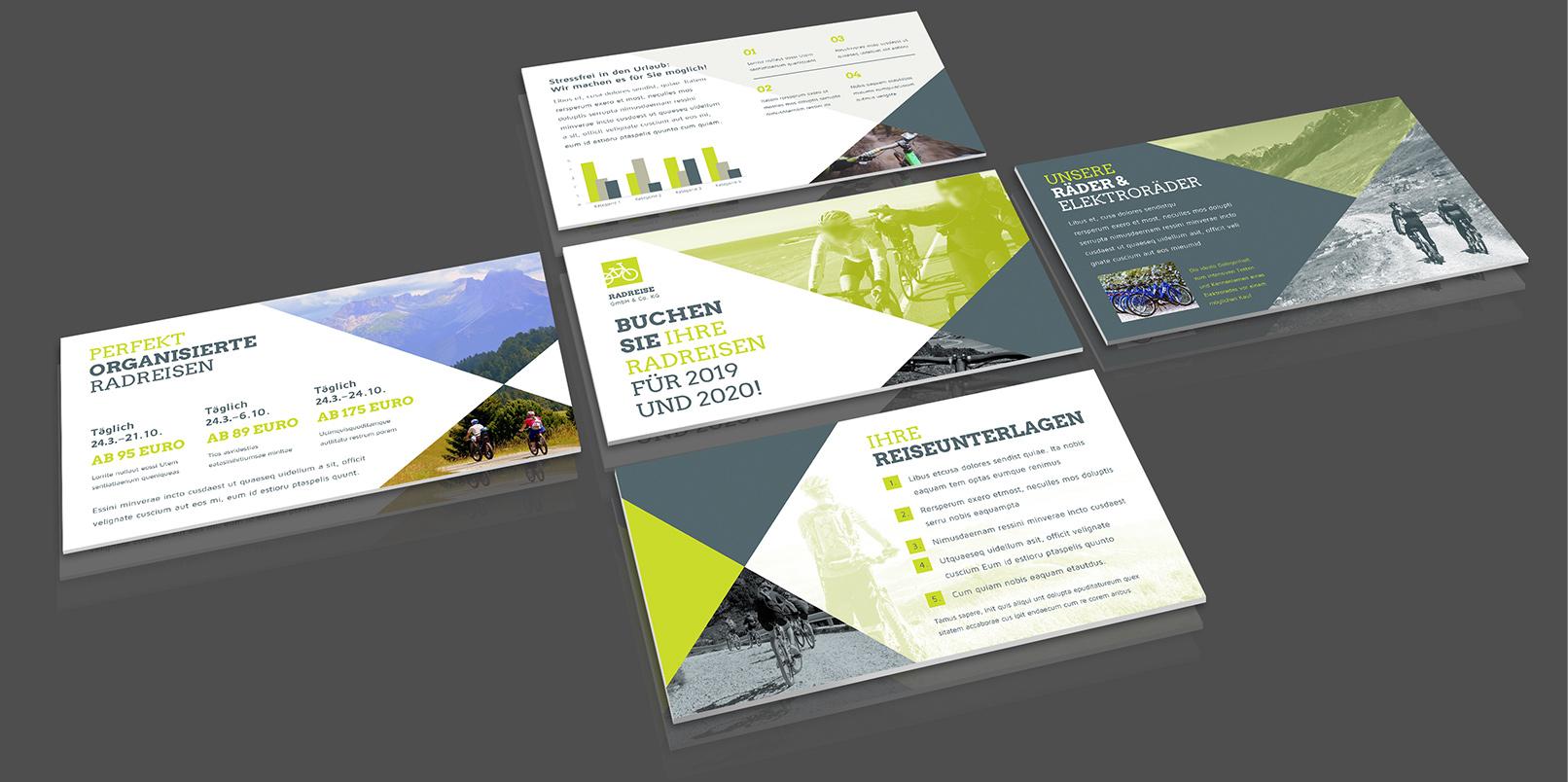 Layout-Vorlagen für PowerPoint: Reise und Urlaub