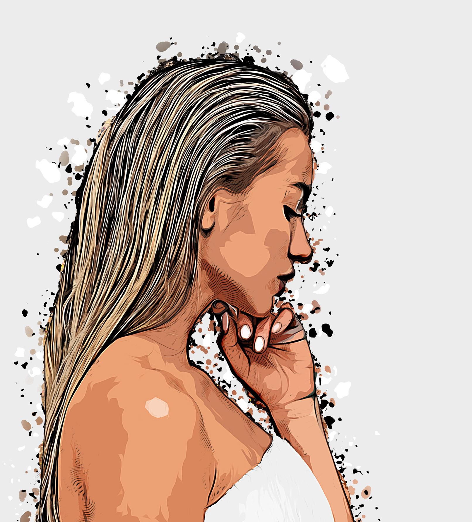 """Photoshop-Aktion """"Cartoon"""": Malerischer Ölfarben-Look für deine Fotos"""