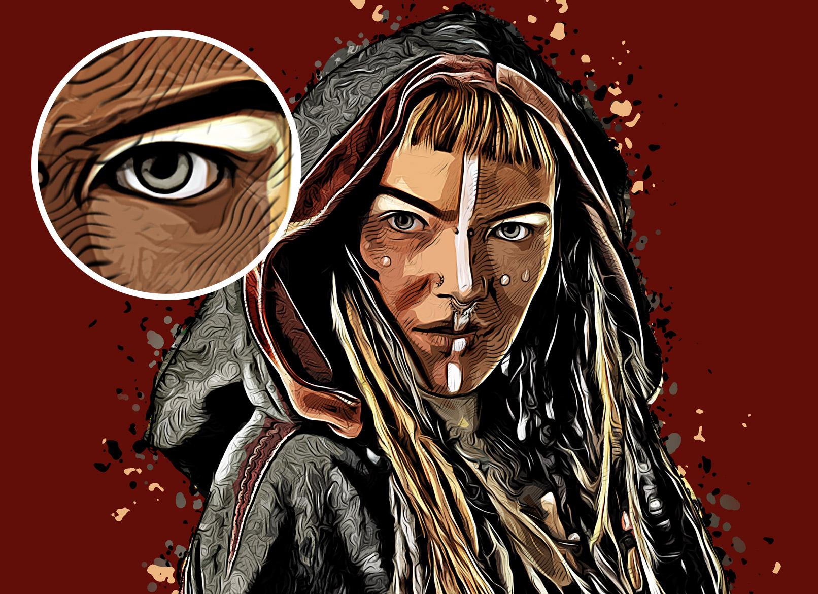 Photoshop-Aktion Cartoon: Malerischer Ölfarben-Look für deine Fotos