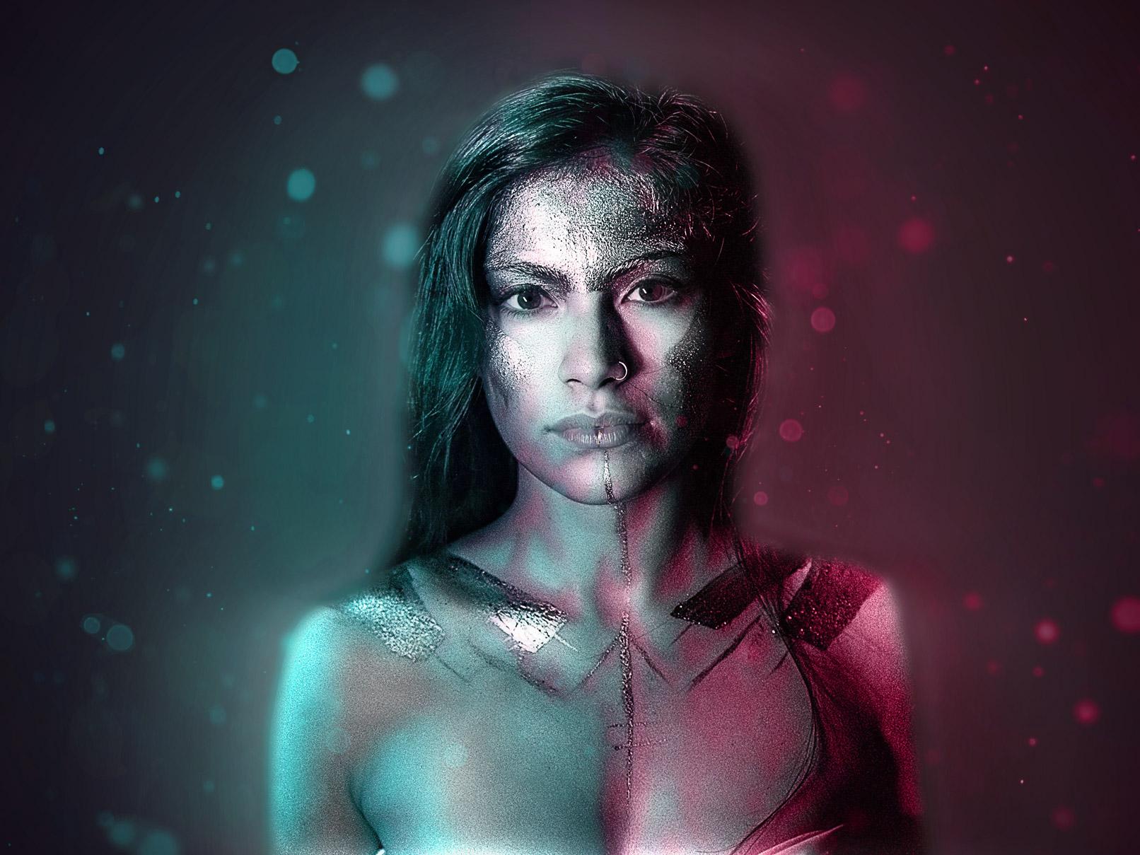 """Nachher-Bild von Photoshop-Aktion """"2Light"""": Atmosphärische Doppelbeleuchtung für deine Fotos"""